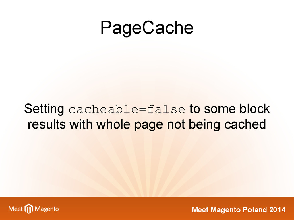 Meet Magento Poland 2014 PageCache Setting cach...