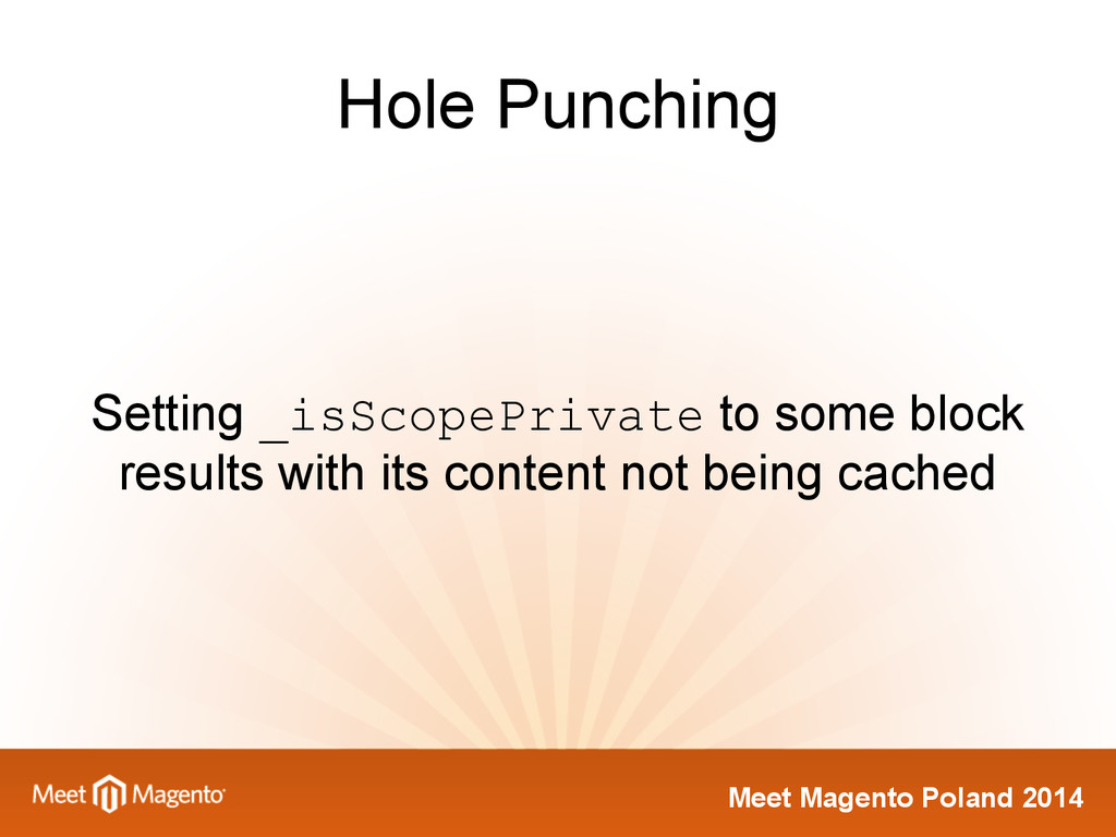Meet Magento Poland 2014 Hole Punching Setting ...