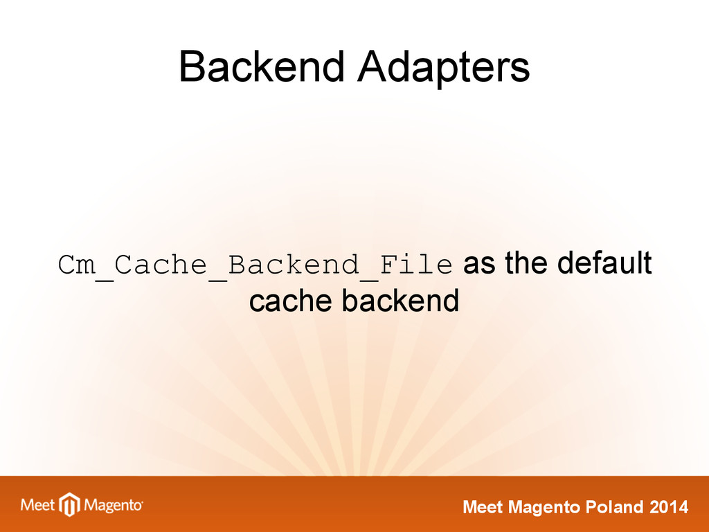 Meet Magento Poland 2014 Backend Adapters Cm_Ca...