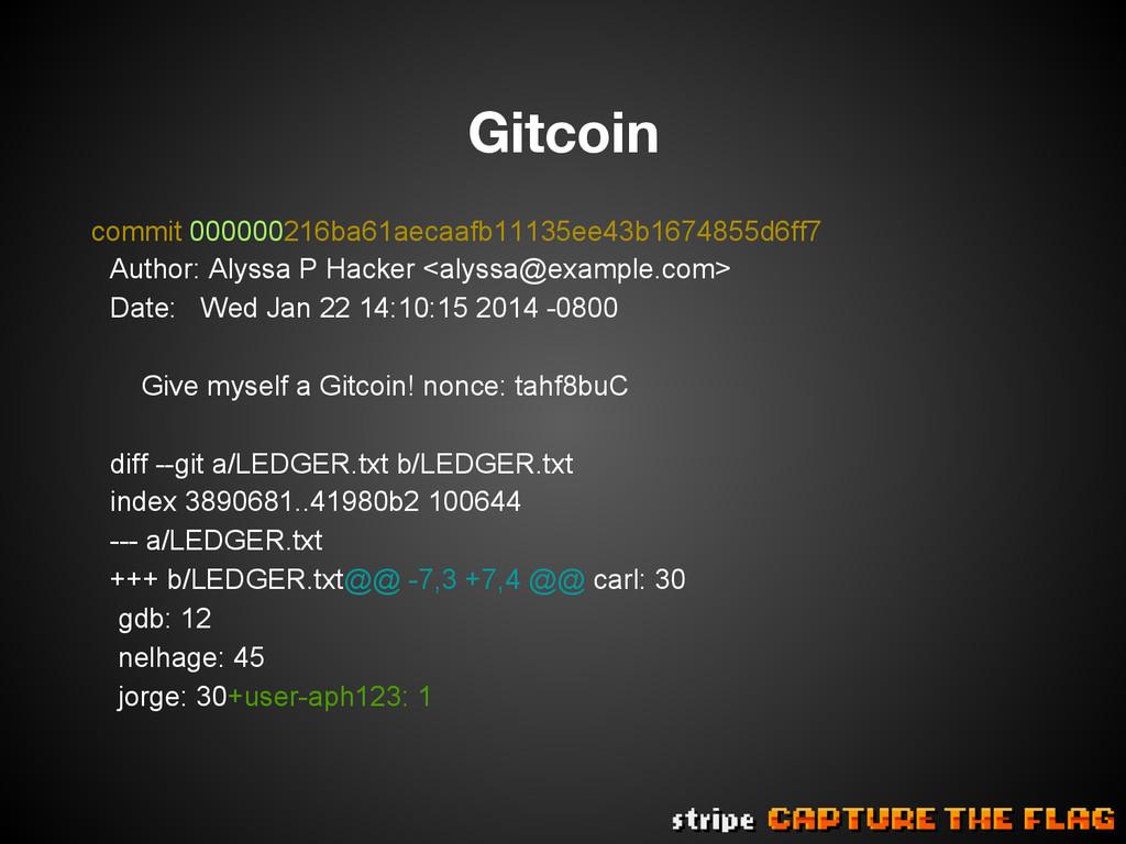 Gitcoin commit 000000216ba61aecaafb11135ee43b1...
