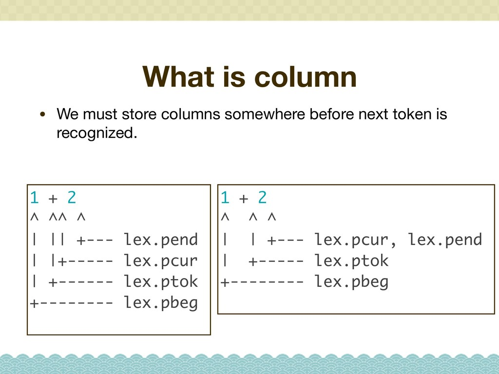 What is column • We must store columns somewher...