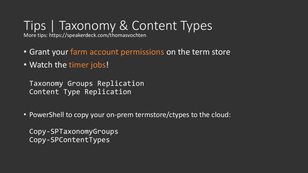 Tips | Taxonomy & Content Types • Grant your fa...