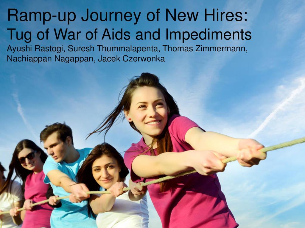 © Microsoft Corporation Ramp-up Journey of New ...