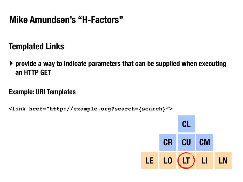 "Mike Amundsen's ""H-Factors"" Templated Links CL ..."