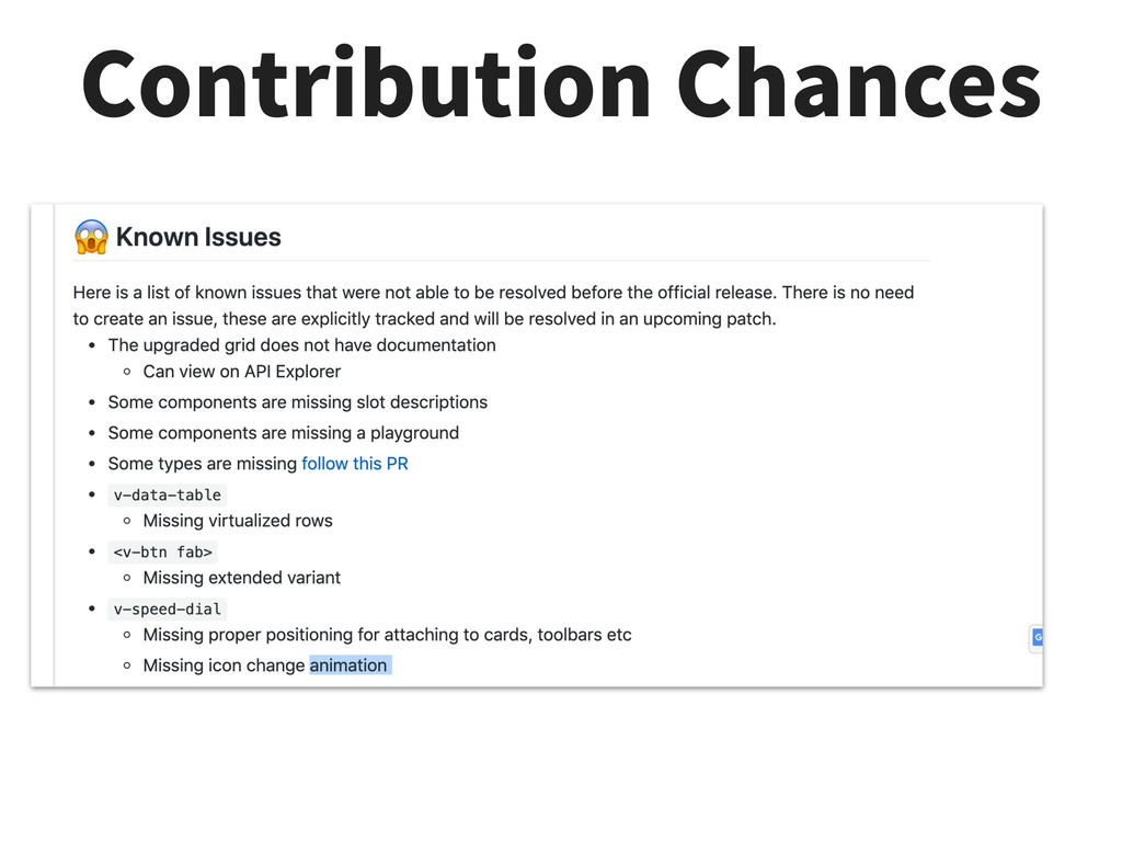 Contribution Chances