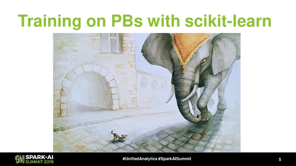 Training on PBs with scikit-learn 5 #UnifiedAna...