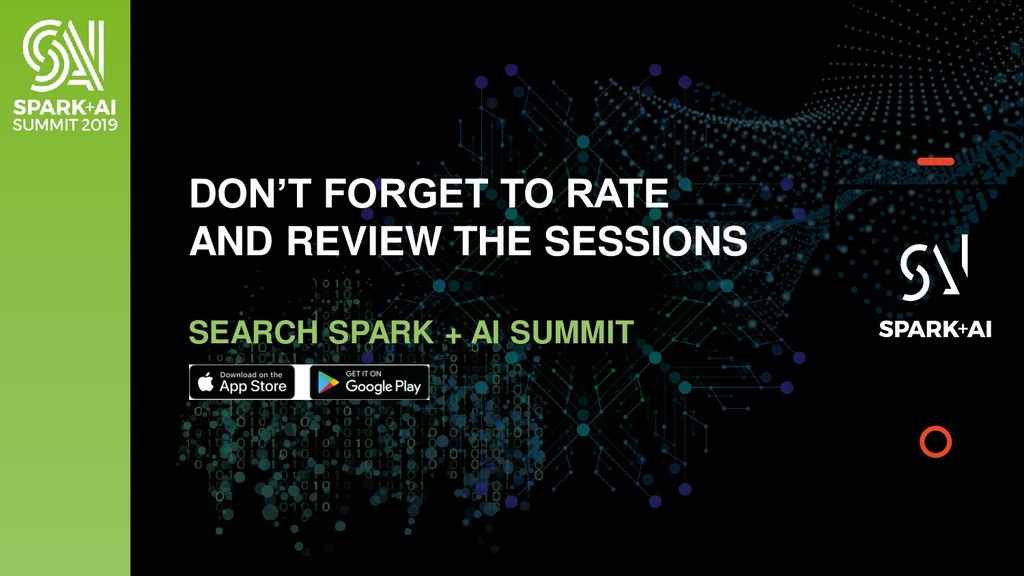 DON'T FORGET TO RATE AND REVIEW THE SESSIONS SE...