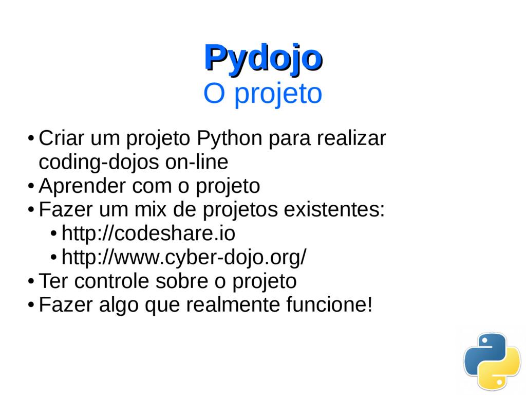 ● Criar um projeto Python para realizar coding-...