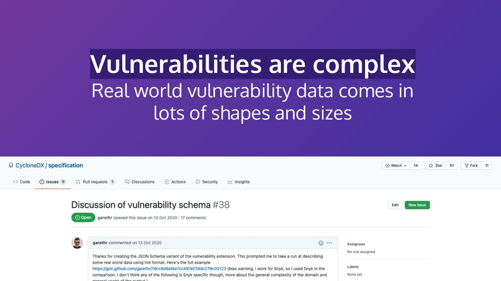 Vulnerabilities are complex Real world vulnerab...