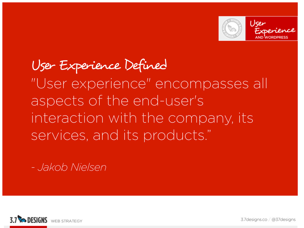"""User Experience Defined """"User experience"""" encom..."""