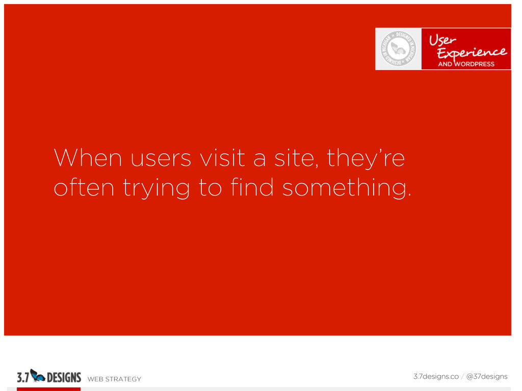 When users visit a site, they're often trying t...