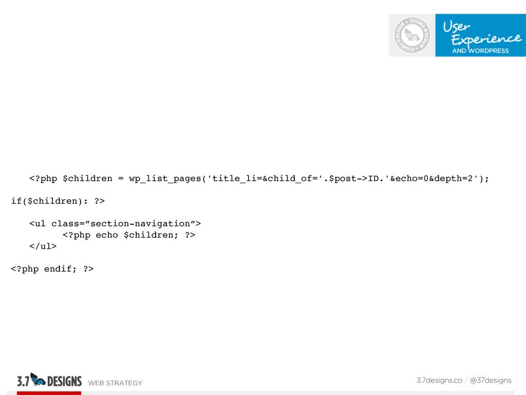 <?php $children = wp_list_pages('title_li=&chil...