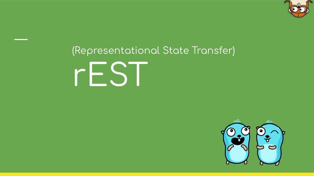 (Representational State Transfer) rEST