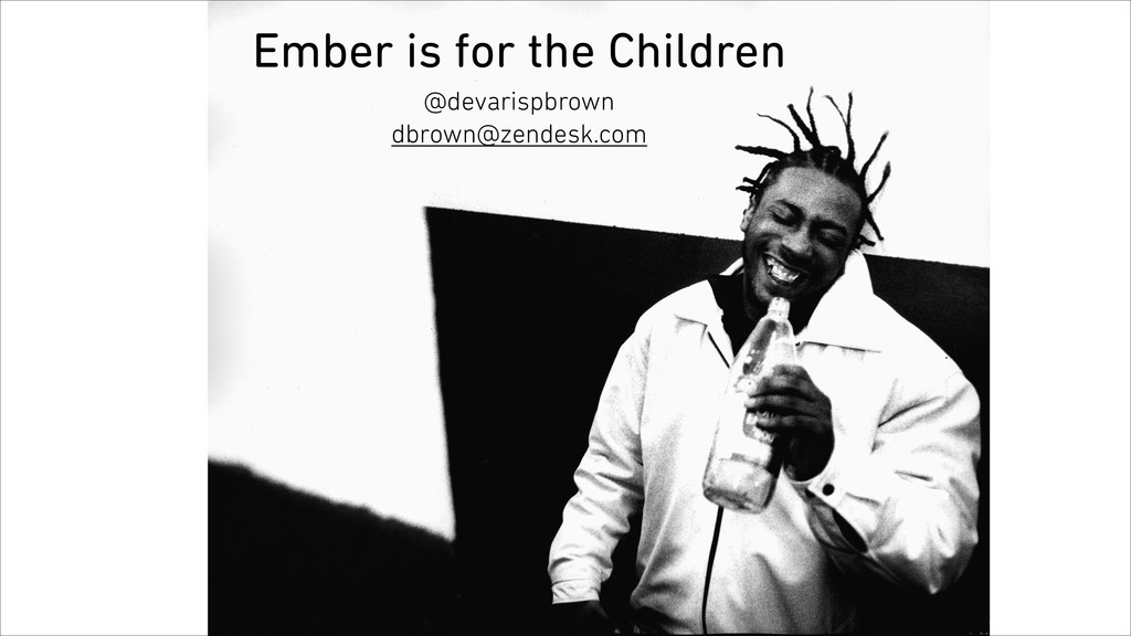 Ember is for the Children @devarispbrown dbrown...
