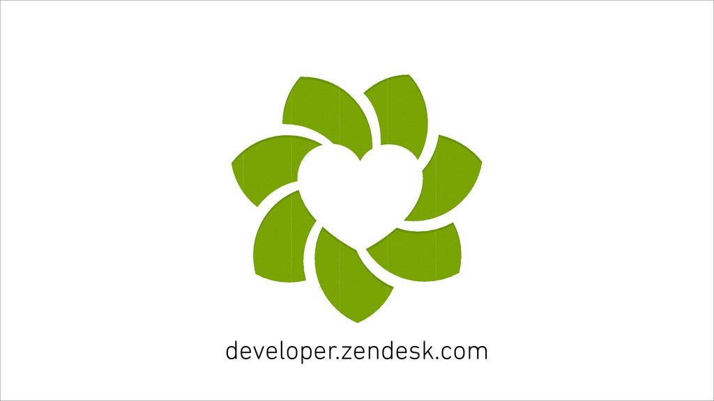 developer.zendesk.com