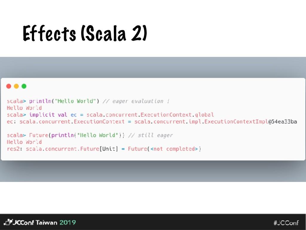 Effects (Scala 2)