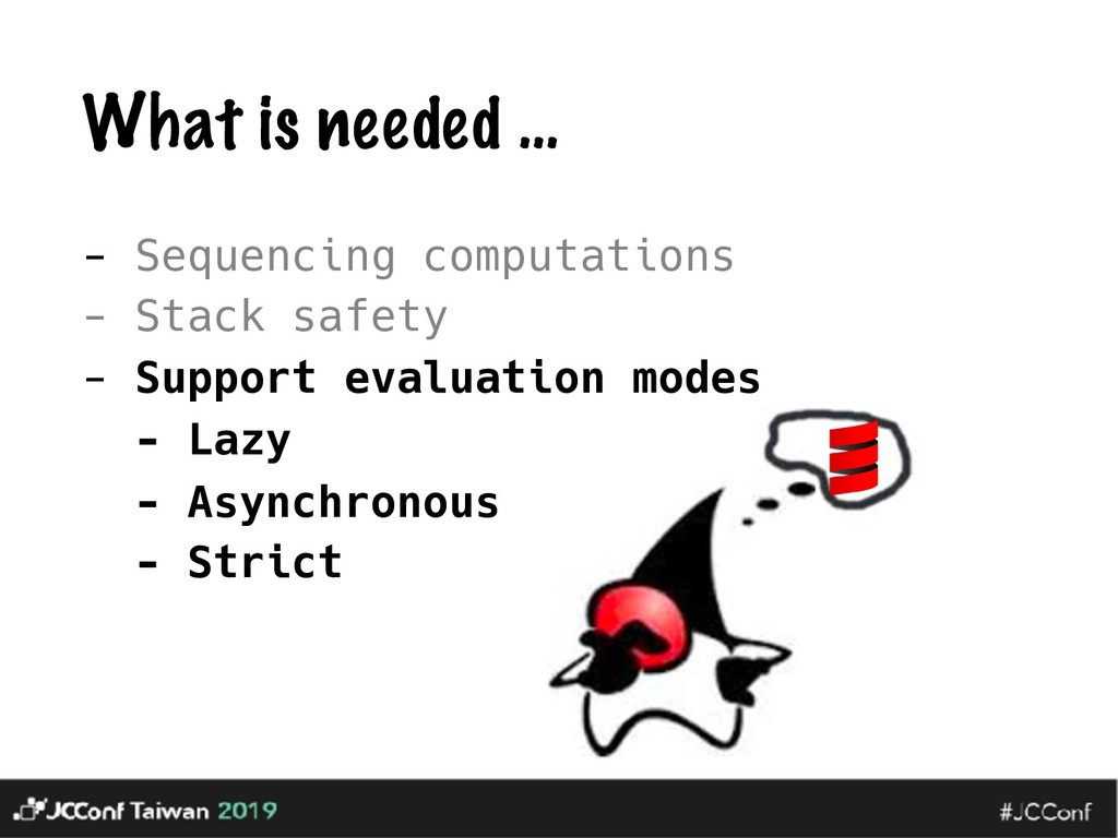 What is needed … - Sequencing computations - St...
