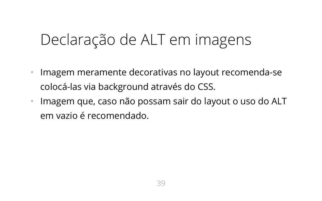 Declaração de ALT em imagens • Imagem meramente...
