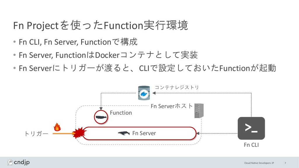 Cloud Native Developers JP Fn Projectを使ったFuncti...