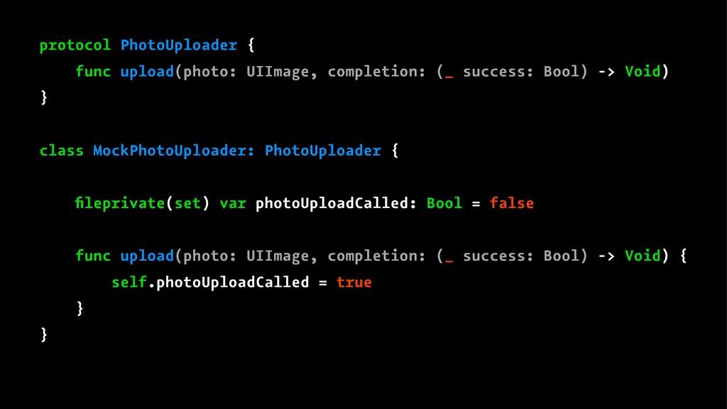 protocol PhotoUploader { func upload(photo: UII...