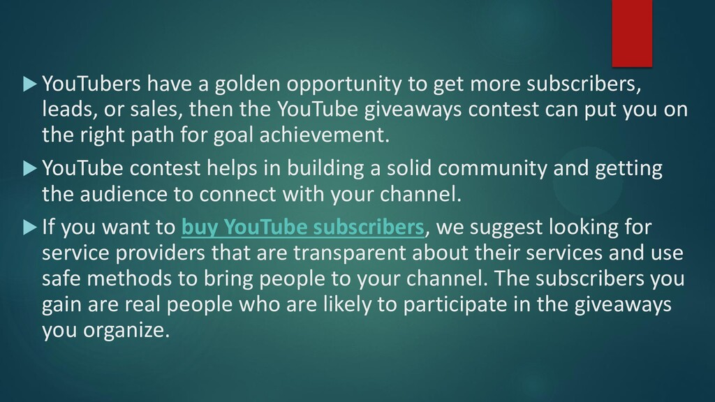  YouTubers have a golden opportunity to get mo...