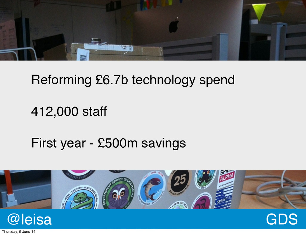 Reforming £6.7b technology spend 412,000 staff ...