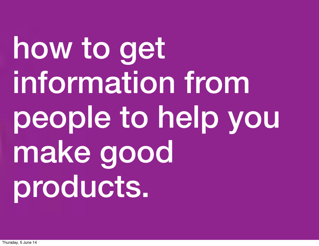 how to get information from people to help you ...