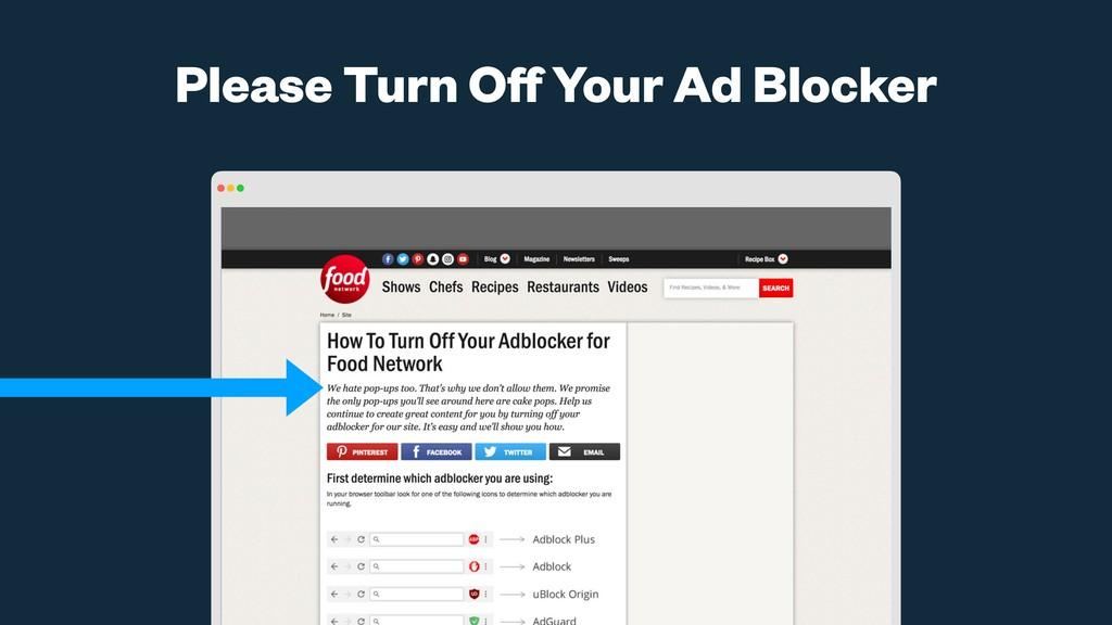 Please Turn Off Your Ad Blocker