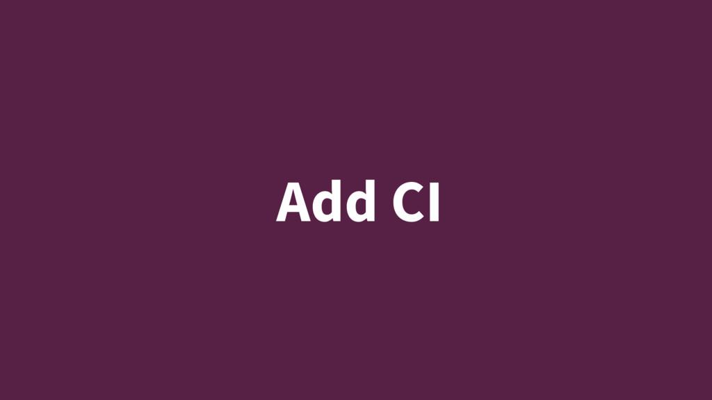 Add CI