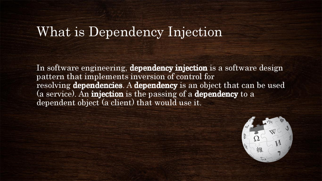 What is Dependency Injection In software engine...
