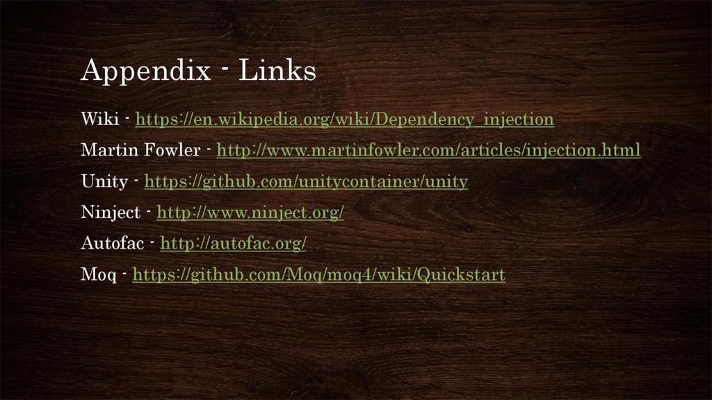 Appendix - Links Wiki - https://en.wikipedia.or...