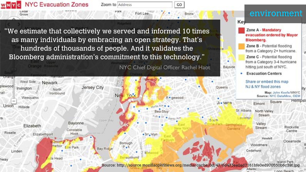 """""""We estimate that collectively we served and in..."""
