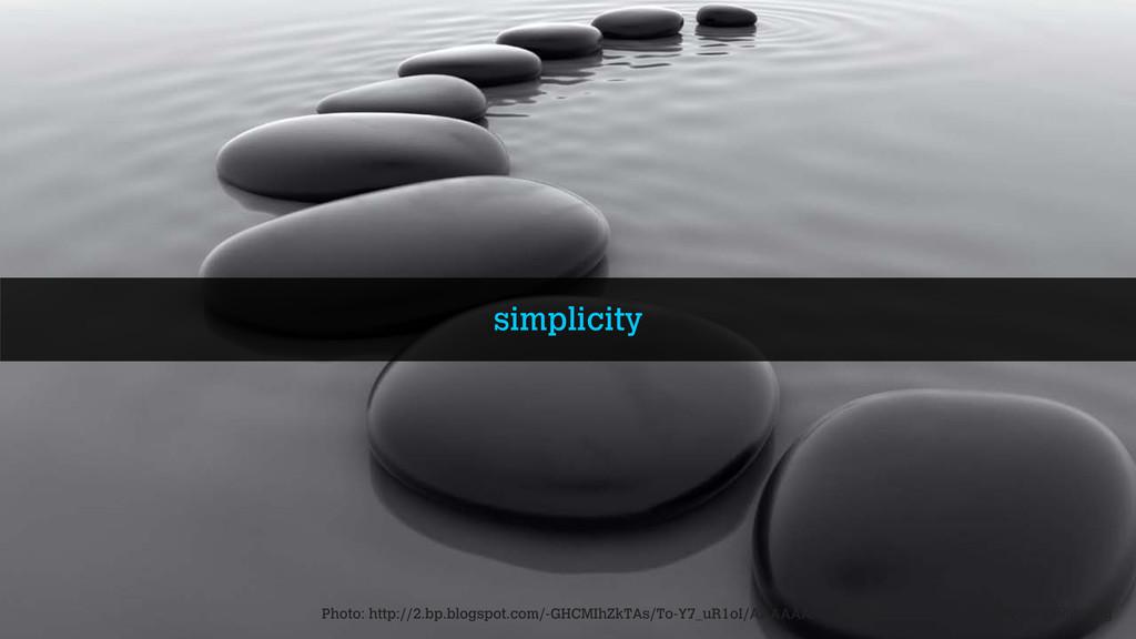 simplicity Photo: http://2.bp.blogspot.com/-GHC...
