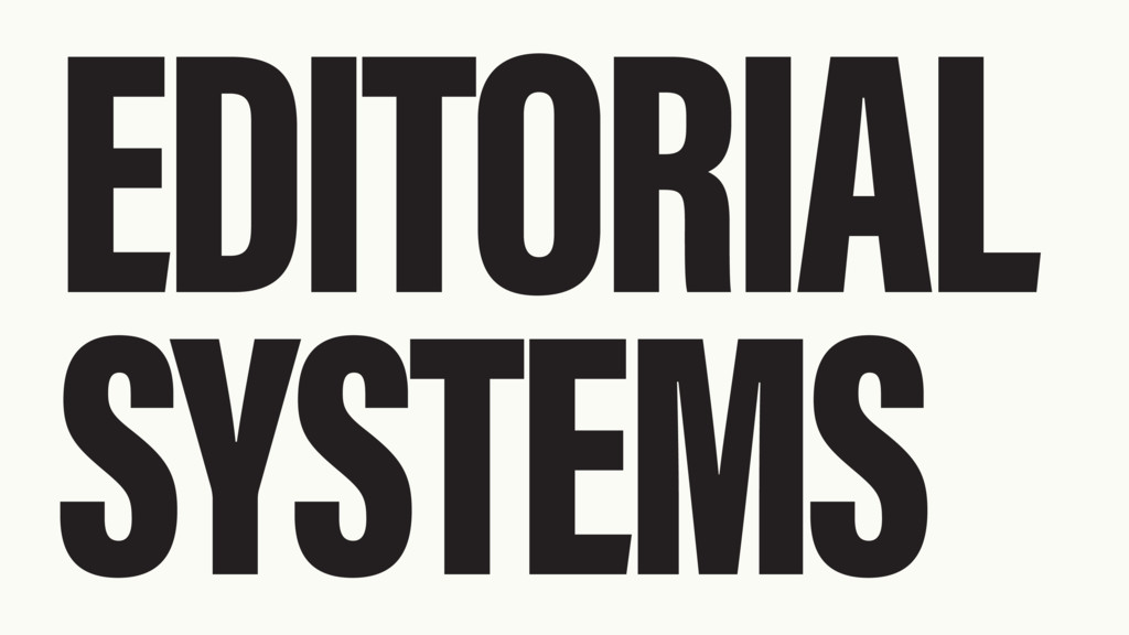 EDITORIAL