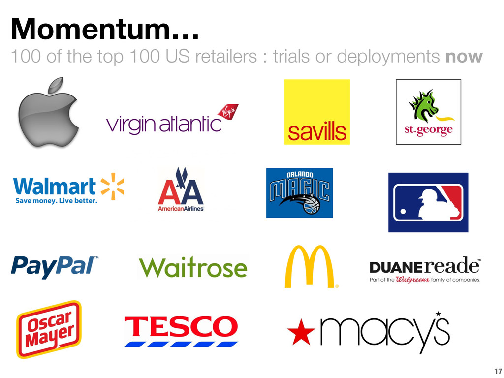 100 of the top 100 US retailers : trials or dep...