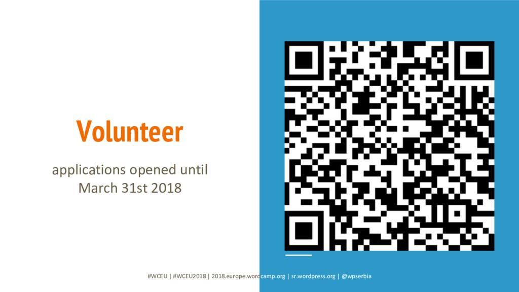 Volunteer #WCEU   #WCEU2018   2018.europe.wordc...