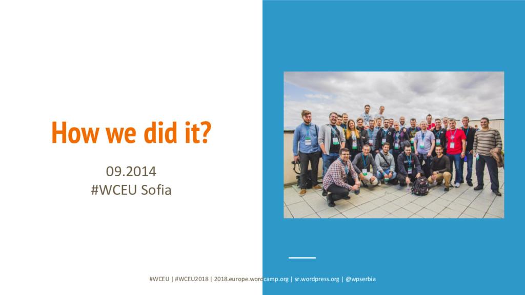 #WCEU   #WCEU2018   2018.europe.wordcamp.org   ...