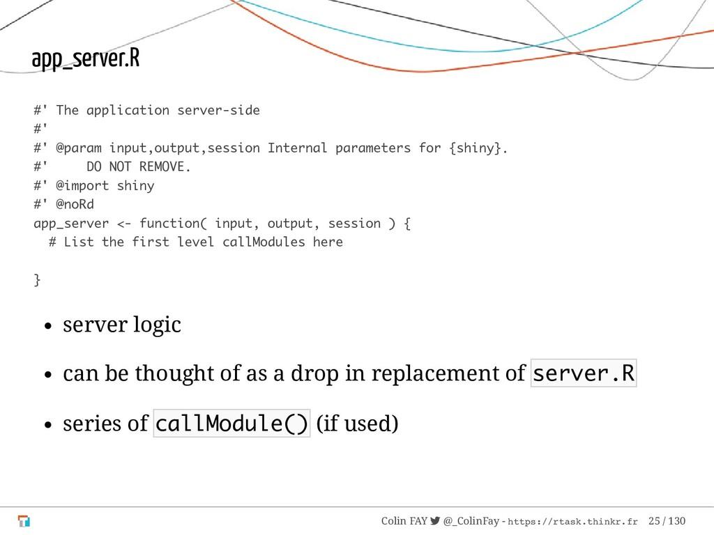 app_server.R #' The application server-side #' ...