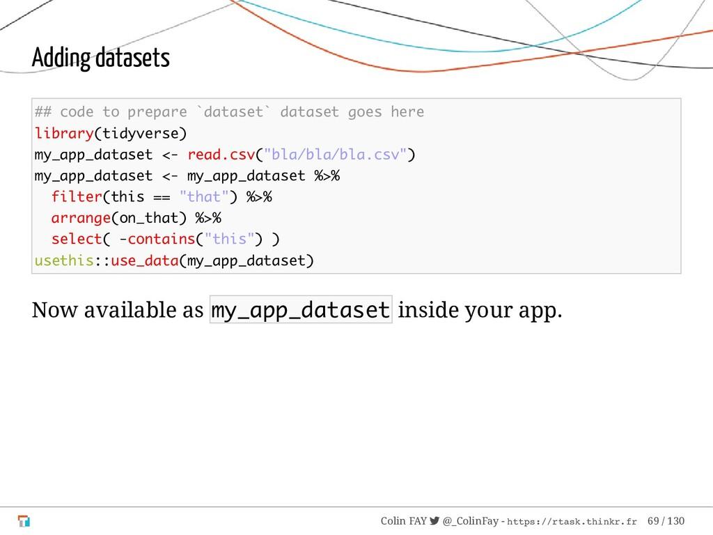 Adding datasets ## code to prepare `dataset` da...