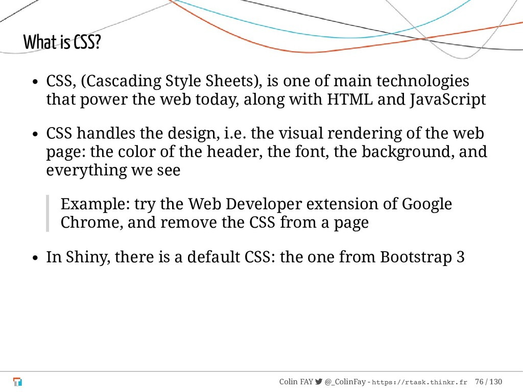 What is CSS? CSS, (Cascading Style Sheets), is ...