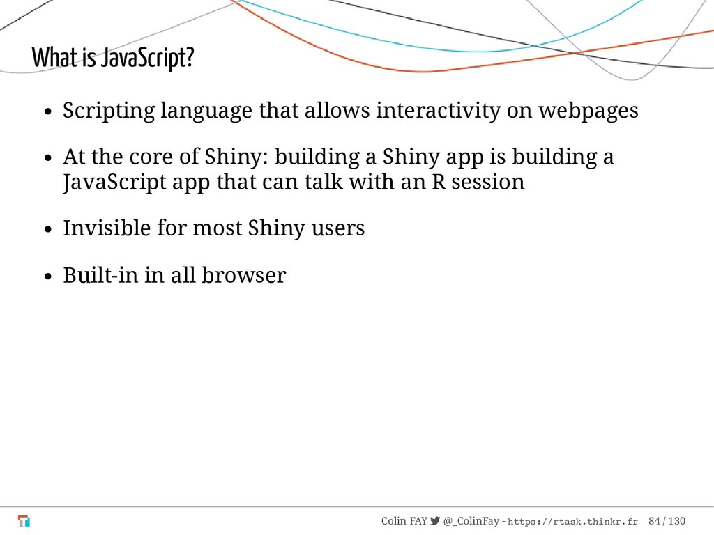 What is JavaScript? Scripting language that all...