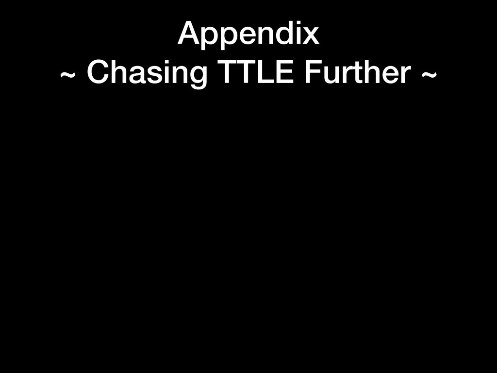 Appendix