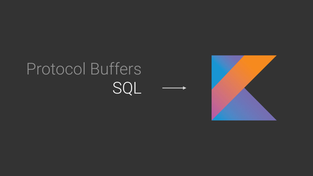 Protocol Buffers SQL