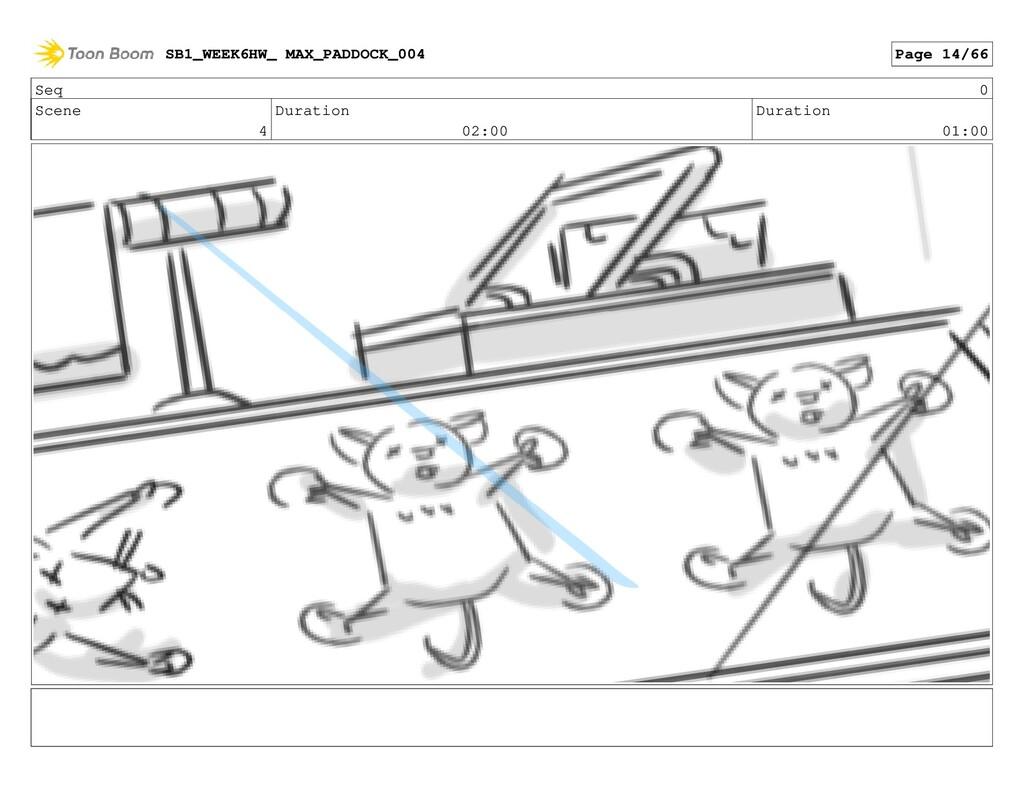 Seq 0 Scene 4 Duration 02:00 Duration 01:00 SB1...