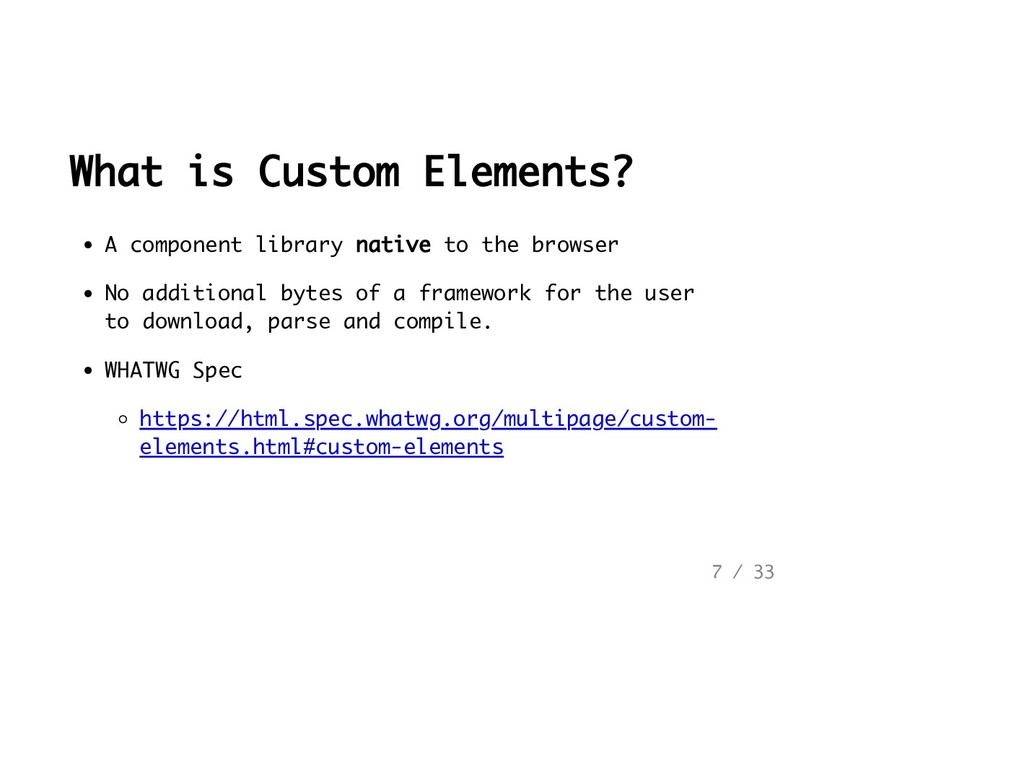 What is Custom Elements? A component library na...