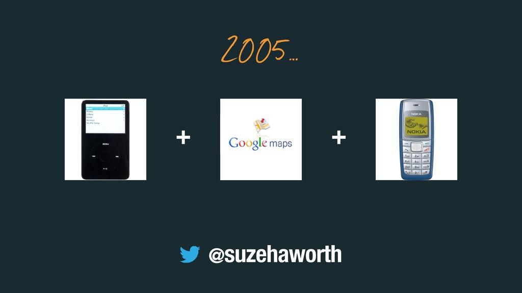+ + 2005… @suzehaworth