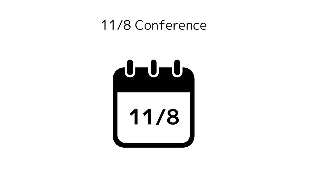 11/8 Conference 11/8