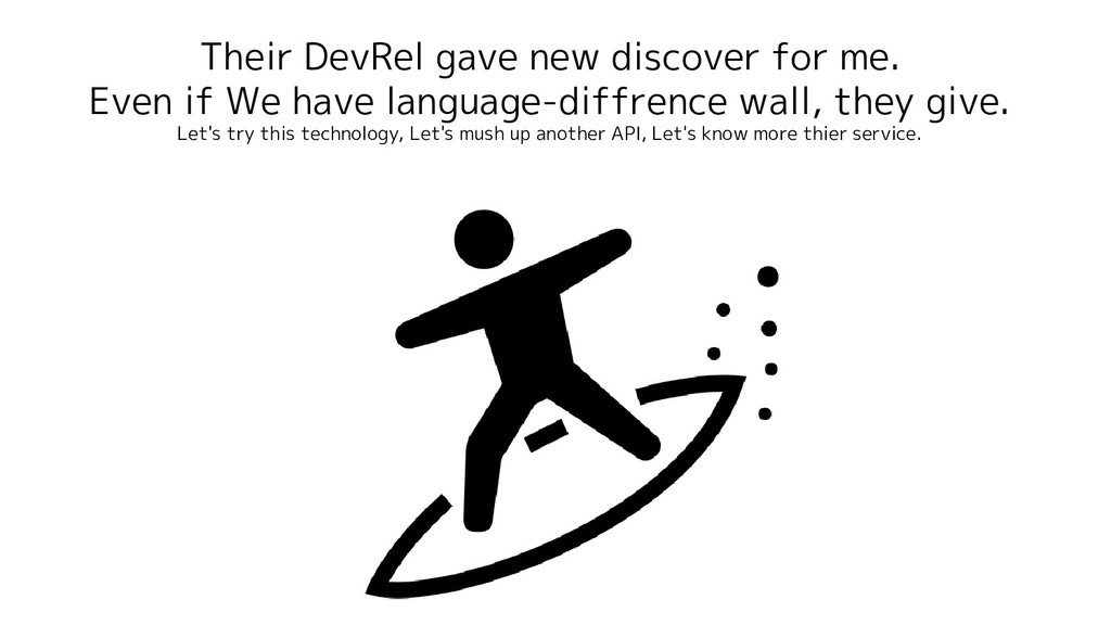 Their DevRel gave new discover for me. Even if ...