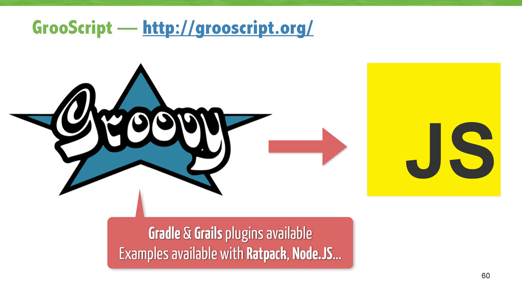 GrooScript — http://grooscript.org/ 60 JS Gradl...