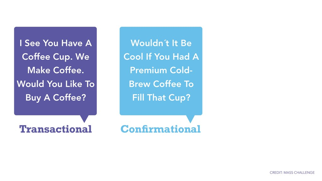 Transactional I See You Have A Coffee Cup. We M...